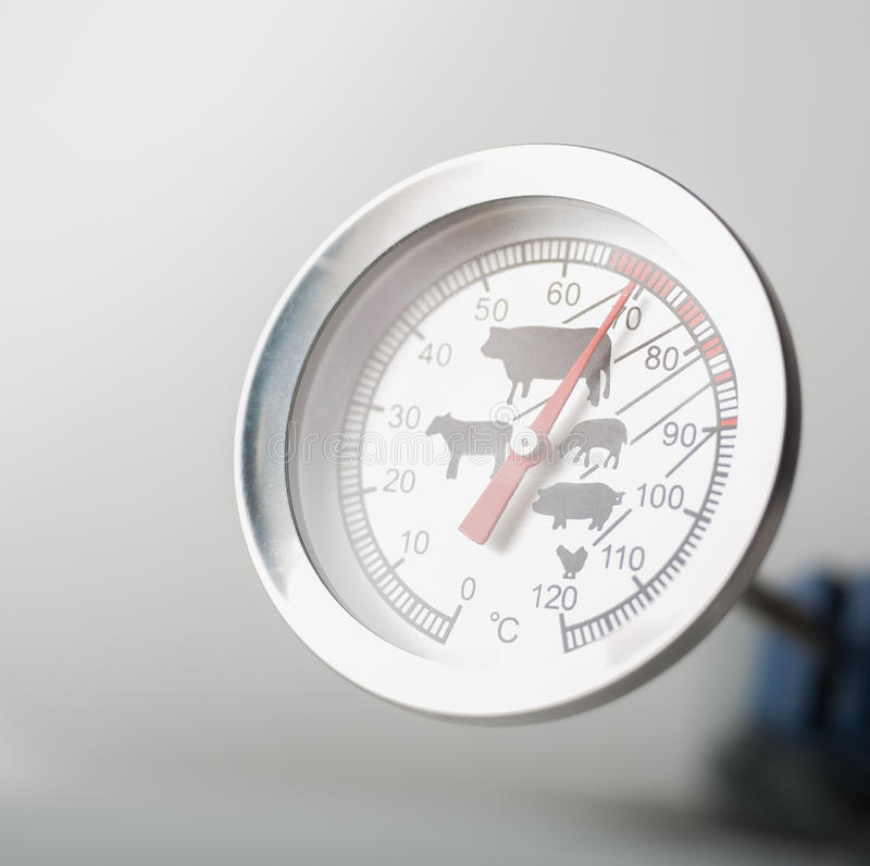 Fleisch-Thermometer stockfotos