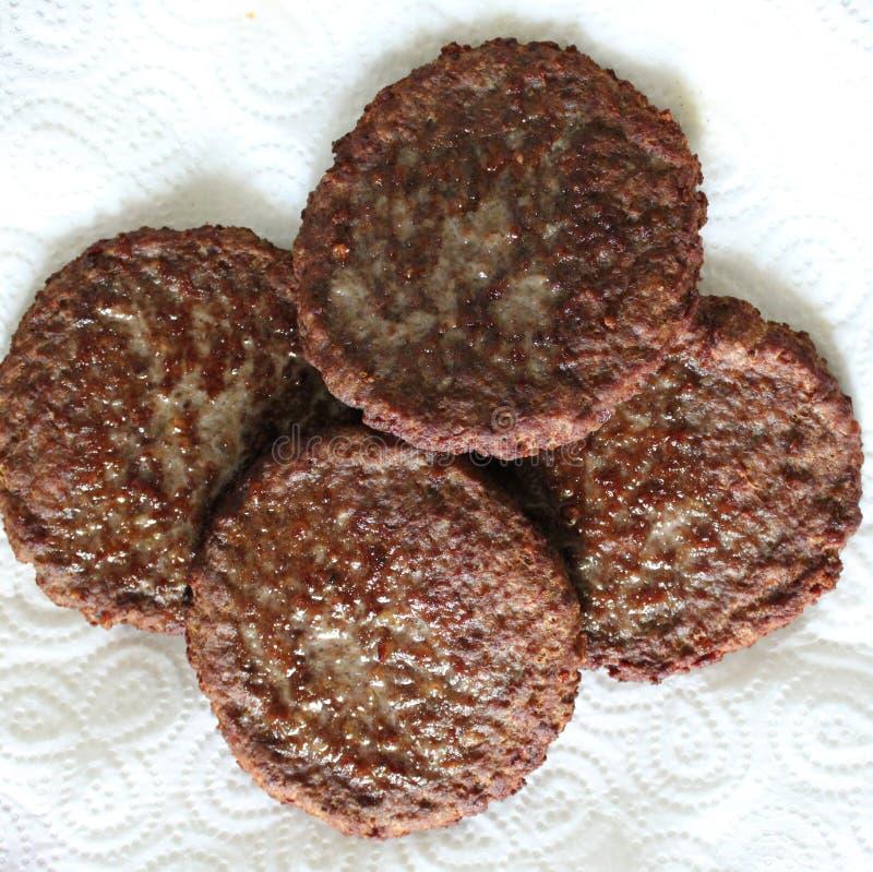 Download Fleischkuchen stockbild. Bild von köstlich, gebraten - 90237521