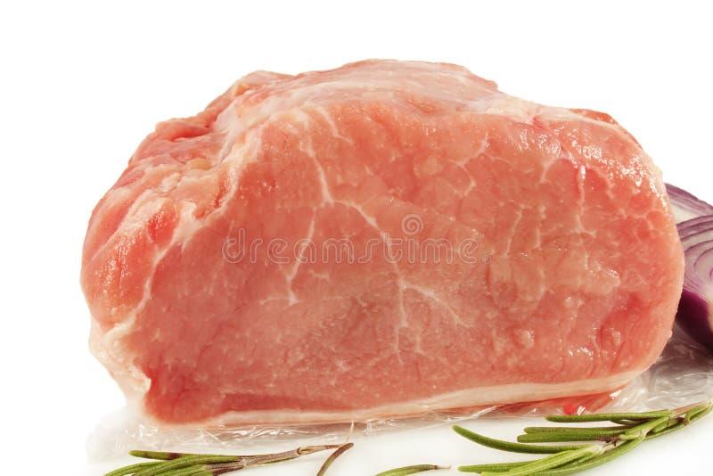 Fleischschweinefleischnahaufnahme lizenzfreies stockbild