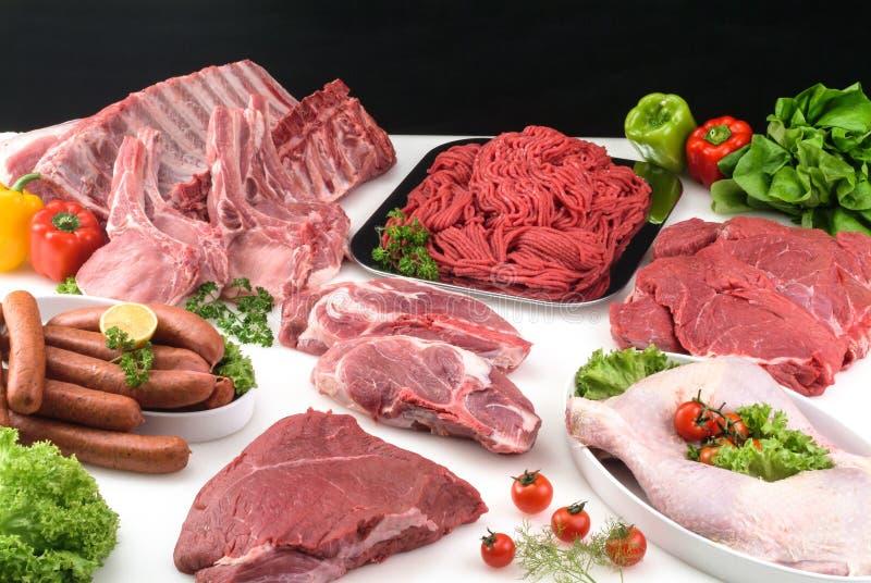 Fleischzusammensetzung stockbilder