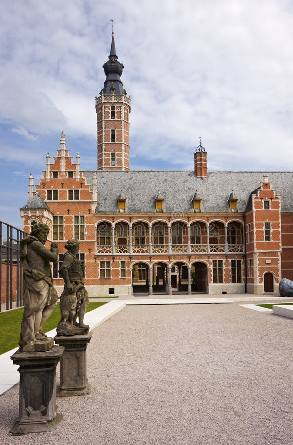 Download Flemish Architecture stock image. Image of 16th, museum - 5615433