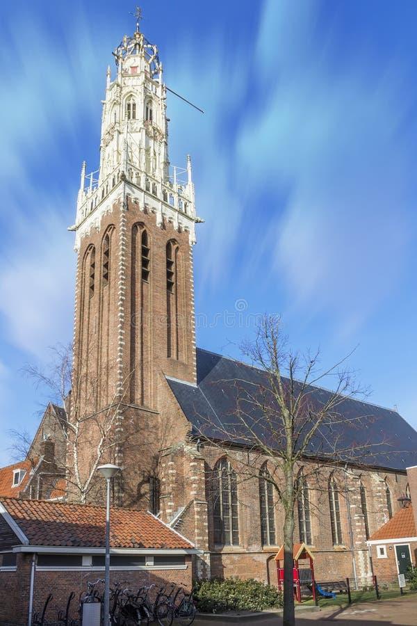 Flemish great church stock photos