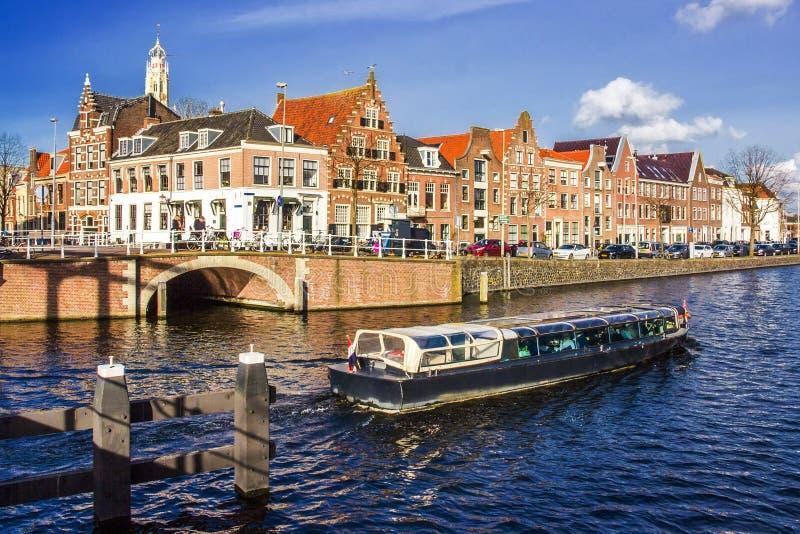 Flemish house architecture royalty free stock images