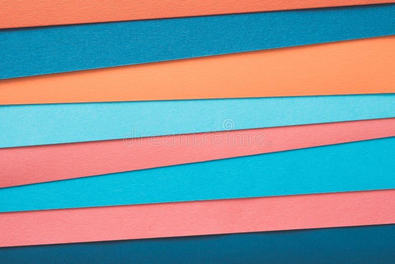 Flerfärgade lager för abstrakt begrepp för konstruktionspapper royaltyfria foton