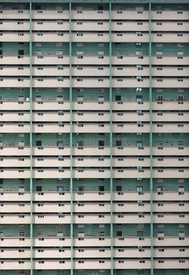 Flerfamiljshusbyggnad, havannacigarr, Kuba arkivbilder