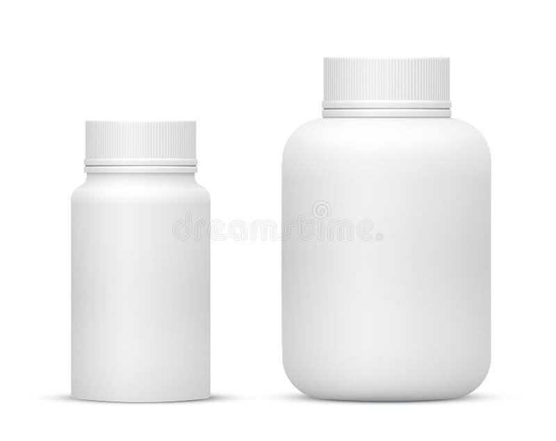 Fles vector illustratie