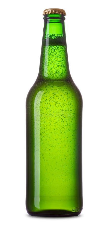 Fles bier royalty-vrije stock foto