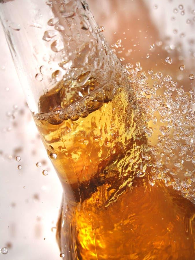 Fles bier royalty-vrije stock fotografie