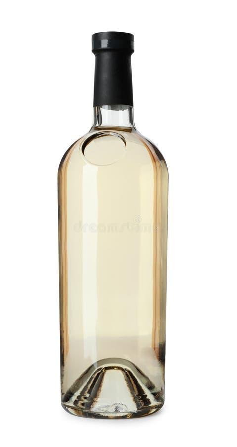 Fles dure wijn royalty-vrije stock foto's