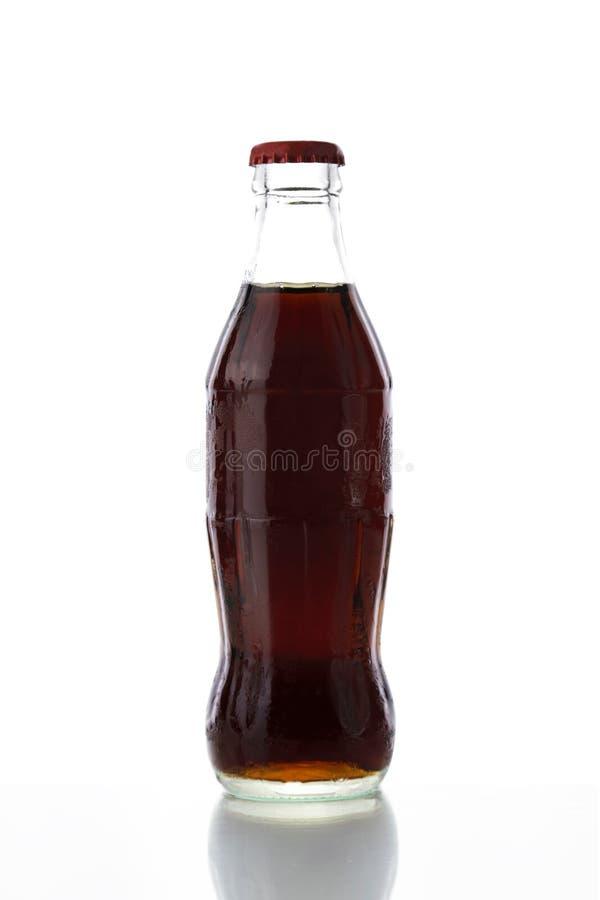 Fles kola royalty-vrije stock foto's