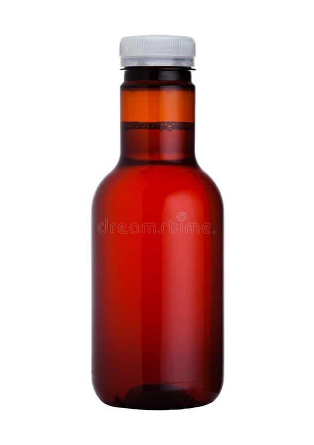 Fles van hydro aangedreven geïsoleerde energiedrank royalty-vrije stock foto