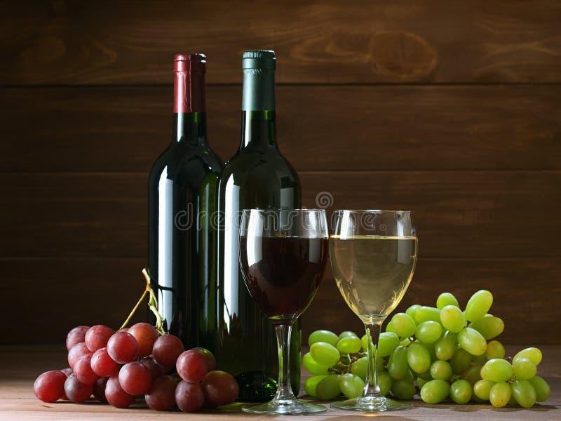 Fles van wijnstok royalty-vrije stock afbeeldingen
