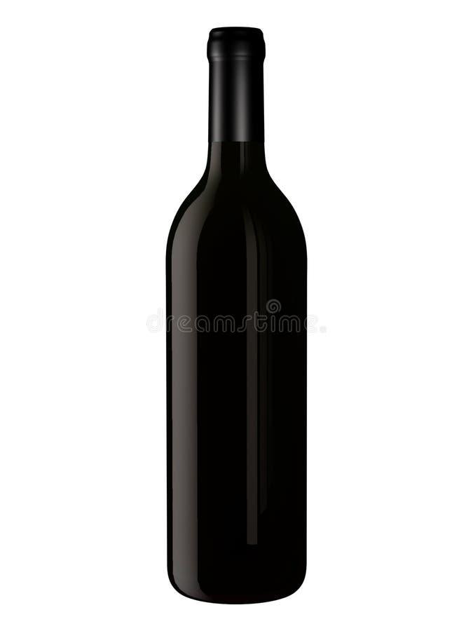 Fles voor het Ontwerp van de Verpakking vector illustratie
