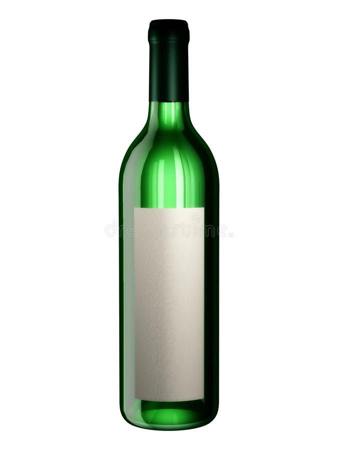 Fles voor het Ontwerp van de Verpakking royalty-vrije illustratie