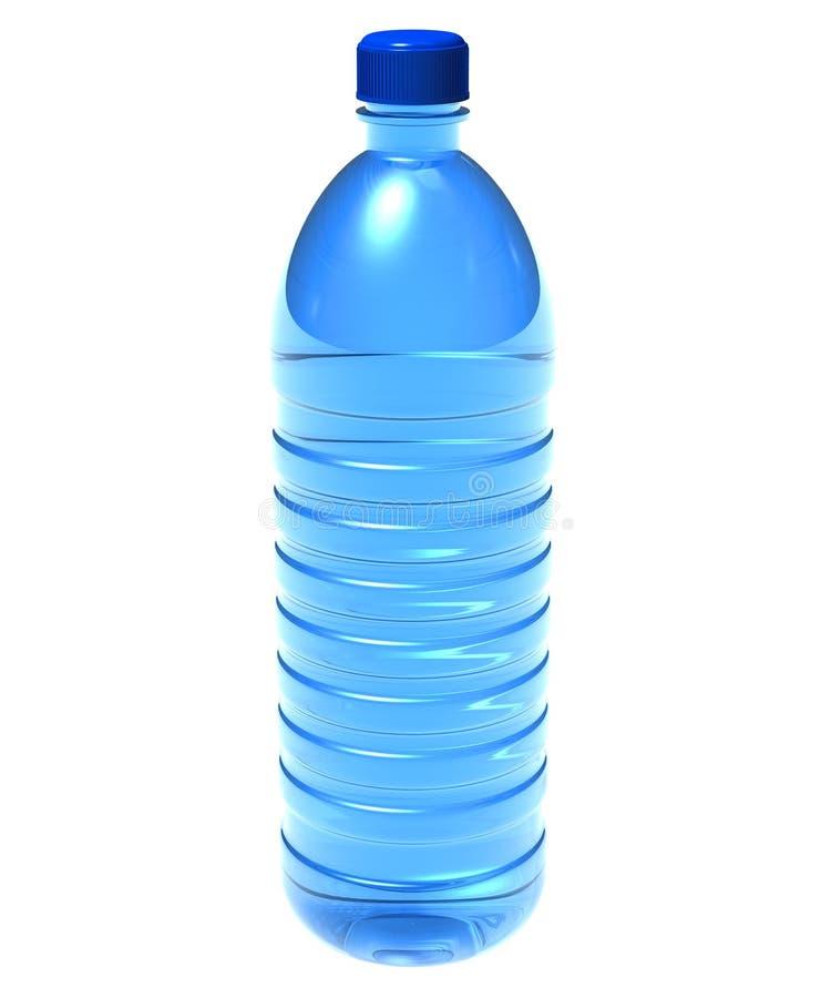 Fles water vector illustratie
