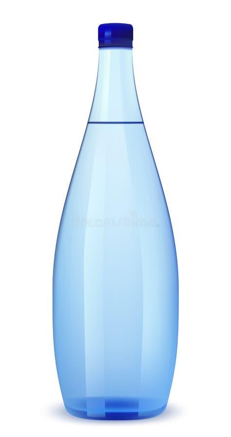 Fles water royalty-vrije illustratie