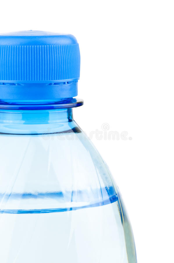 Fles water stock foto