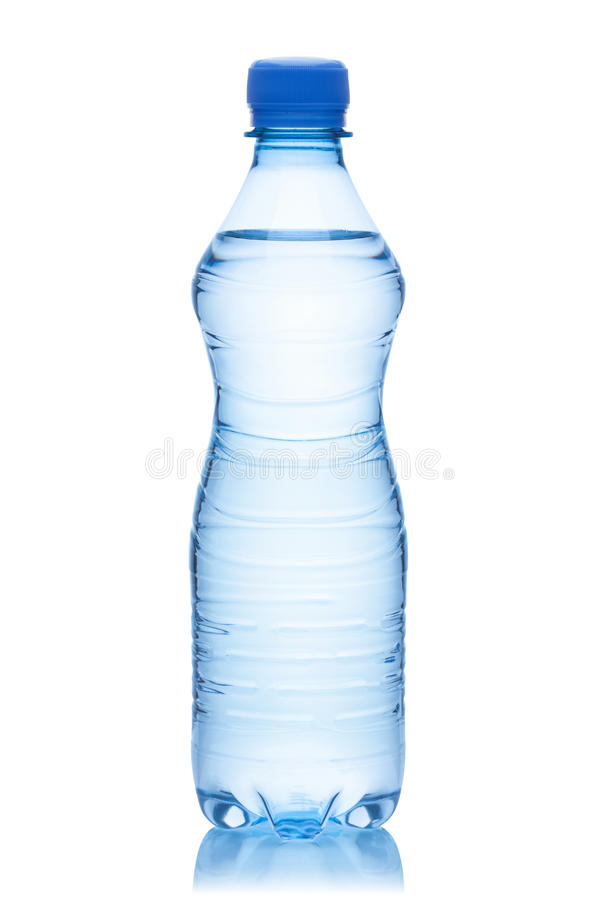 Fles water. stock fotografie