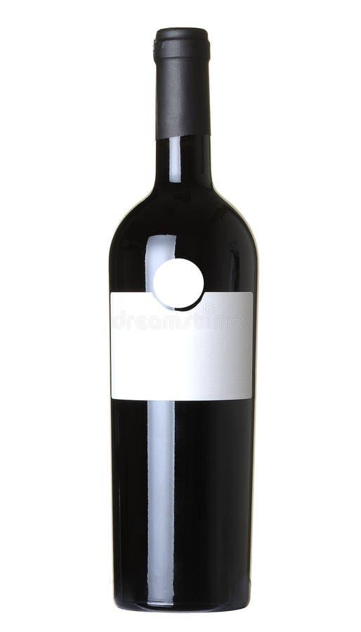 Fles wijn stock foto