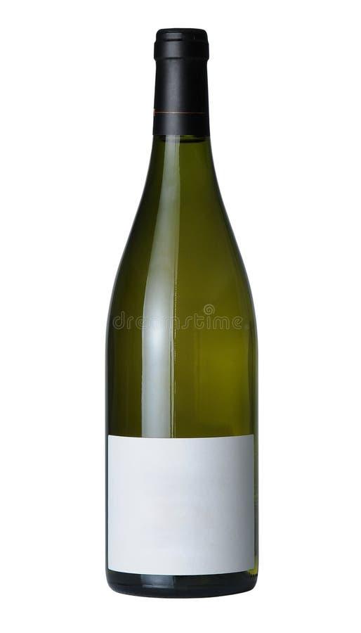Fles wijn royalty-vrije stock foto's