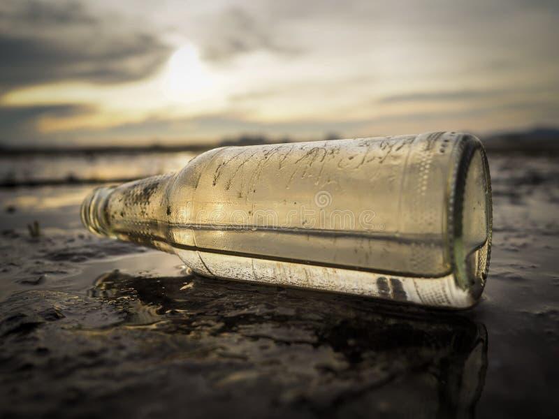 Flessenglas stock foto