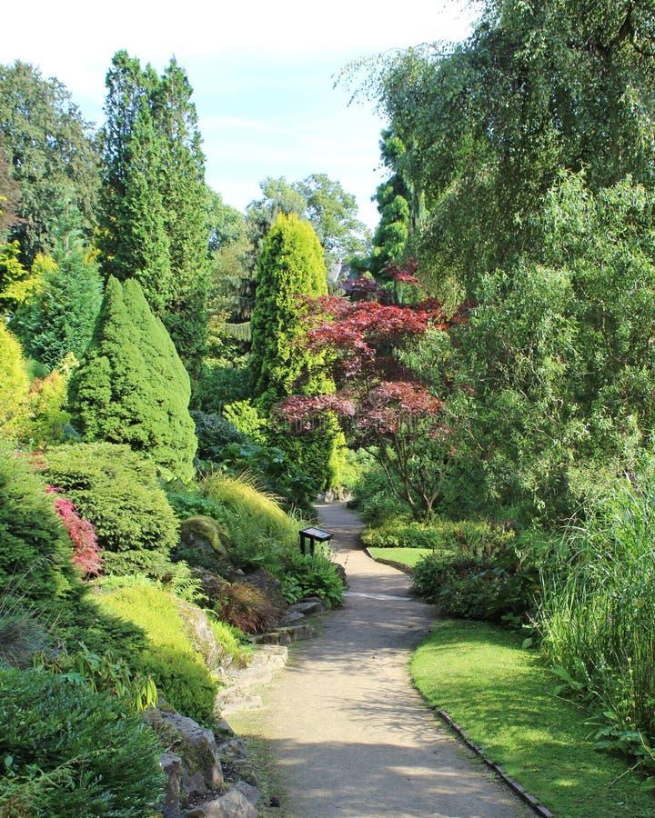 Fletcher Moss Gardens stock fotografie