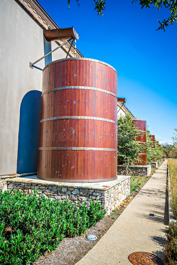 FLETCHER, NC 15 ottobre 2016 - sierra Nevada Brewery immagine stock libera da diritti