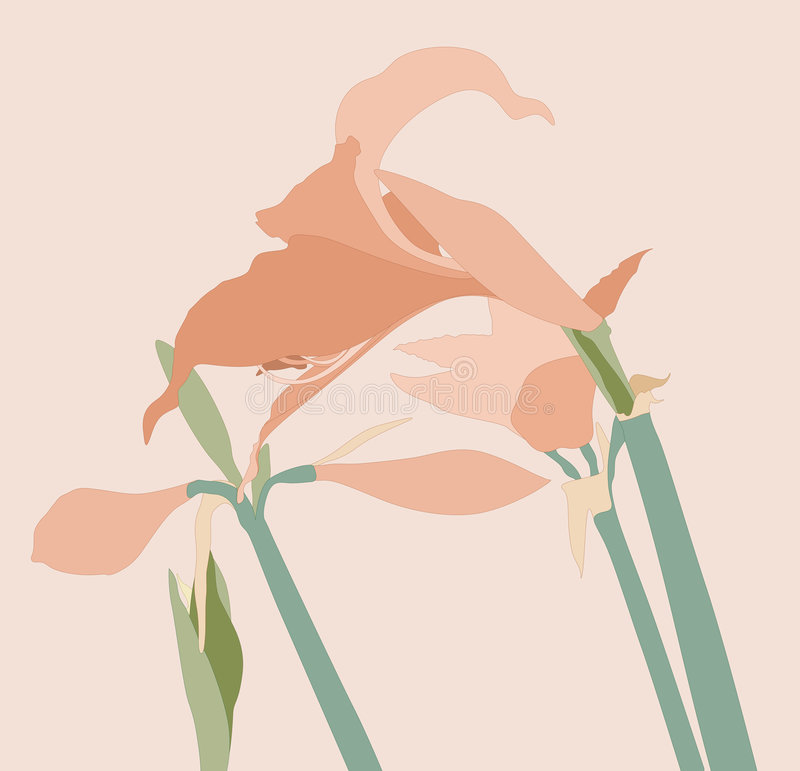 Fleur illustration stock