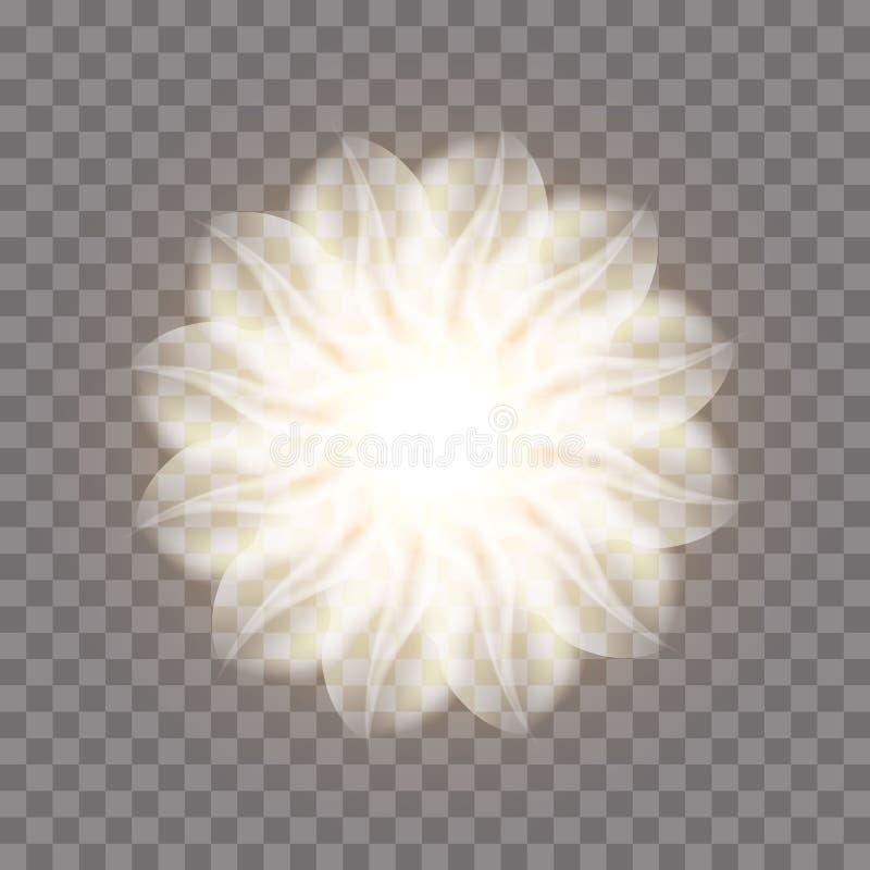 Fleur abstraite de fractale illustration libre de droits