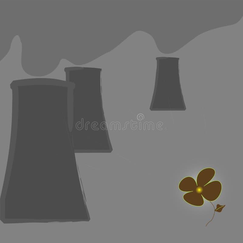 Fleur acide illustration de vecteur