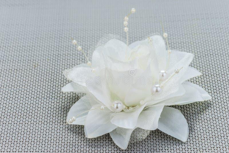 fleur artificielle blanche photo stock image du beau 40910194. Black Bedroom Furniture Sets. Home Design Ideas