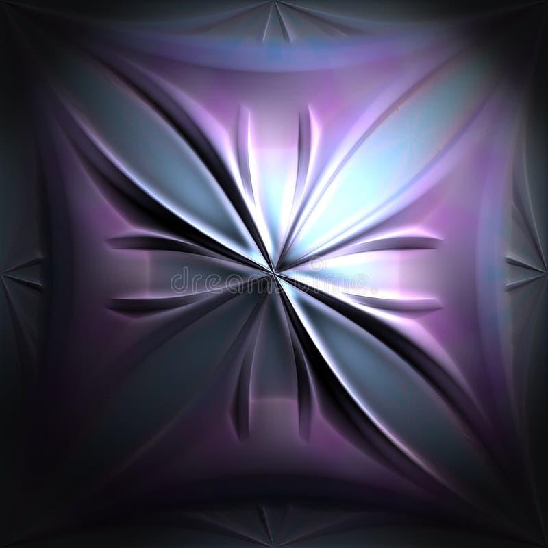 Fleur de fractale illustration de vecteur
