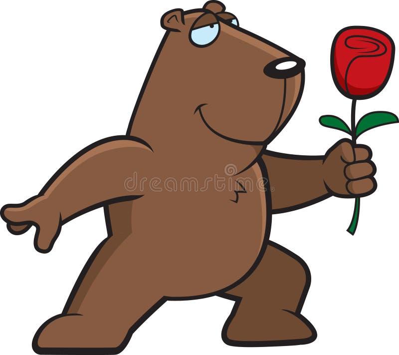 Fleur de Groundhog illustration de vecteur