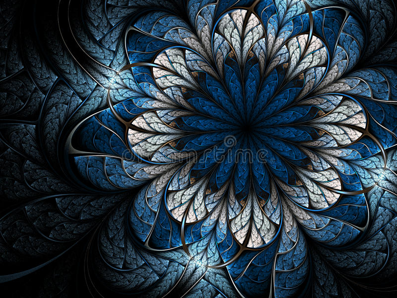 Fleur de l'hiver illustration libre de droits