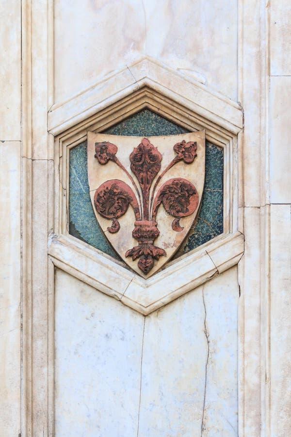 Fleur de Lis Флоренса стоковые изображения rf