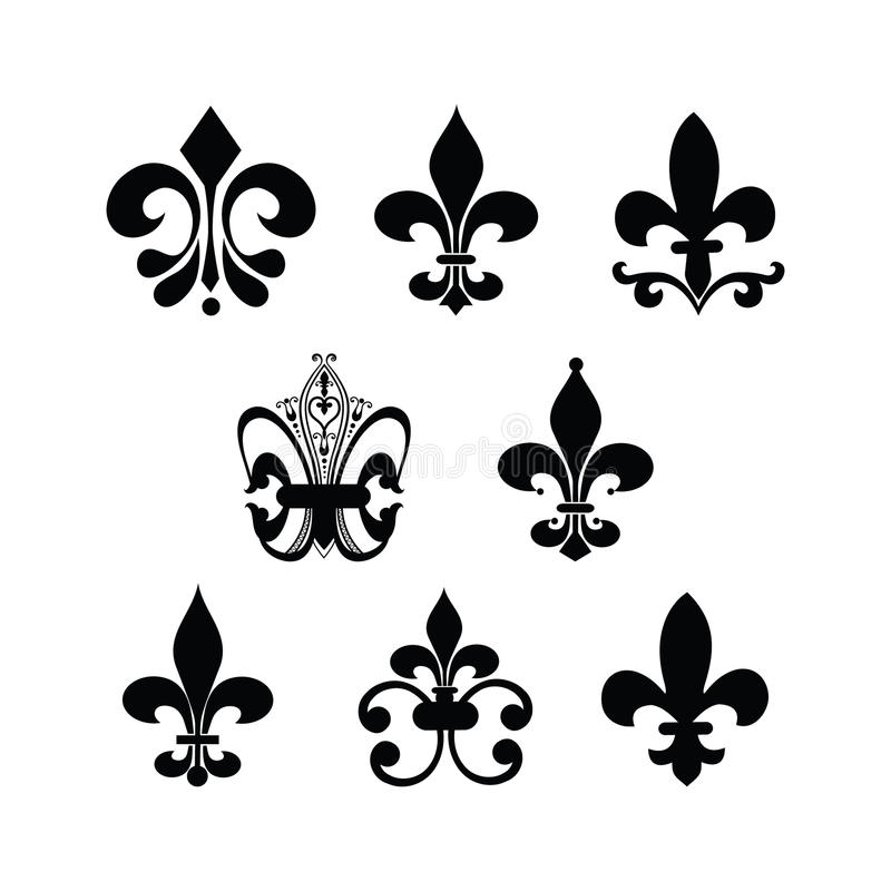 Fleur de lis illustration libre de droits