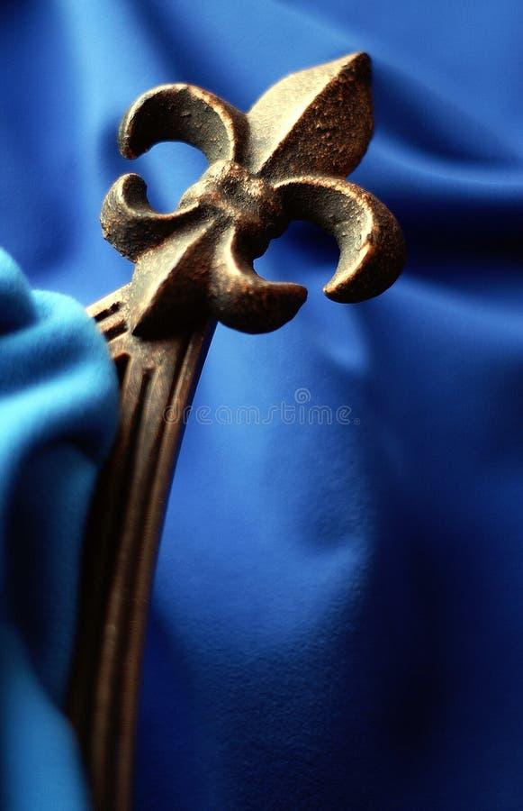 Fleur DE Lis royalty-vrije stock afbeeldingen