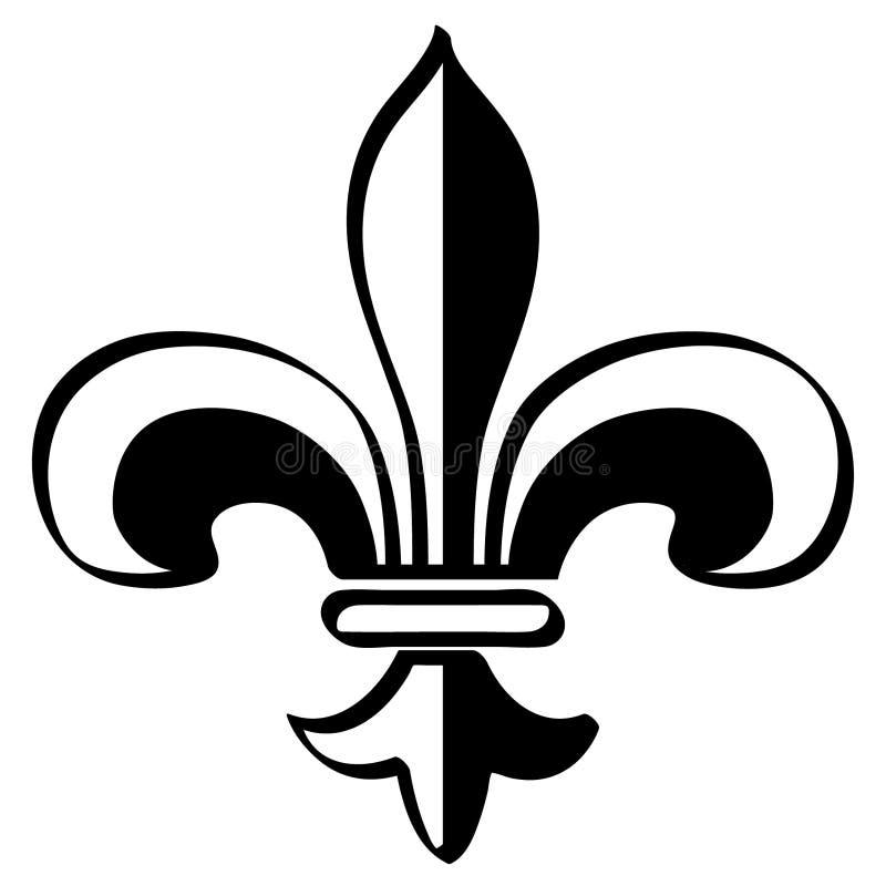 Fleur de lis mardi gras vector eps Hand drawn, Vector, Eps, Logo, Icon, crafteroks, silhouette Illustration for different uses vector illustration