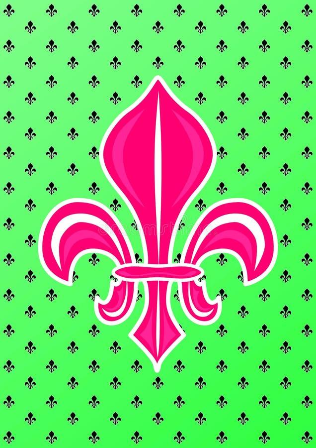 Fleur De Lis Symbol ilustracja wektor