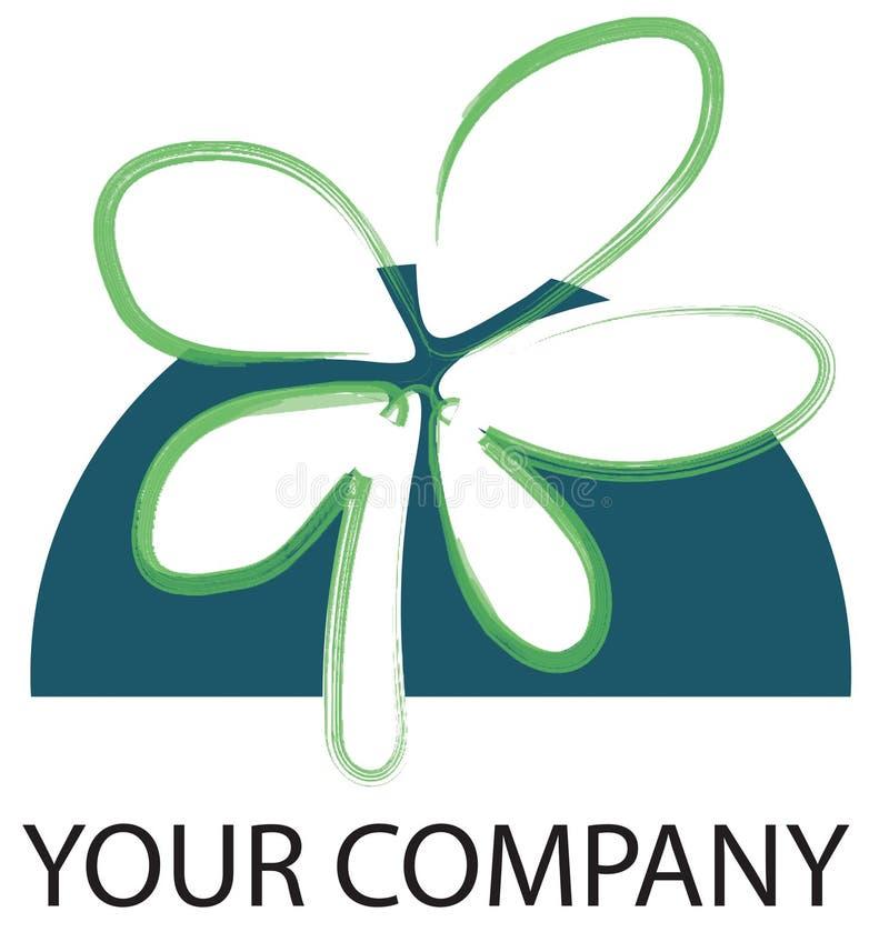 Fleur de logo illustration de vecteur