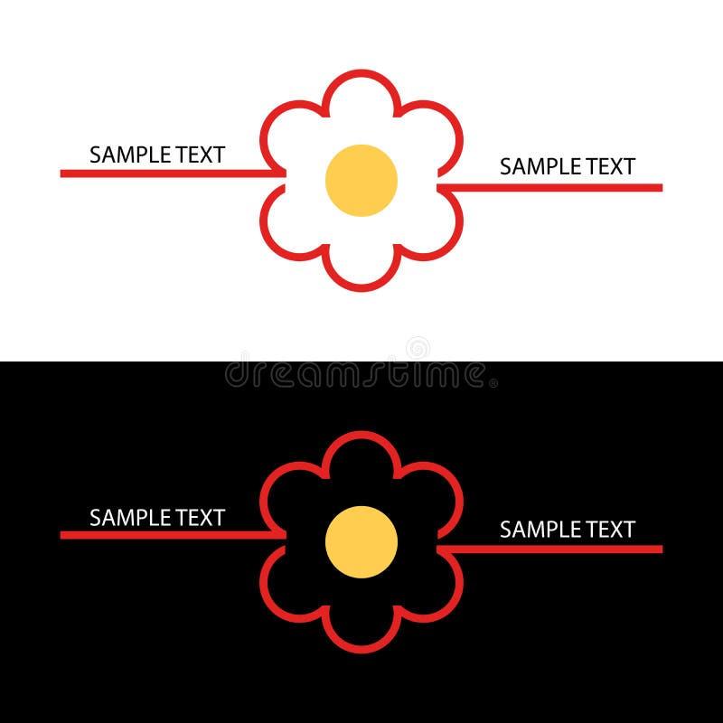 Download Fleur de logo illustration de vecteur. Illustration du blanc - 8667283
