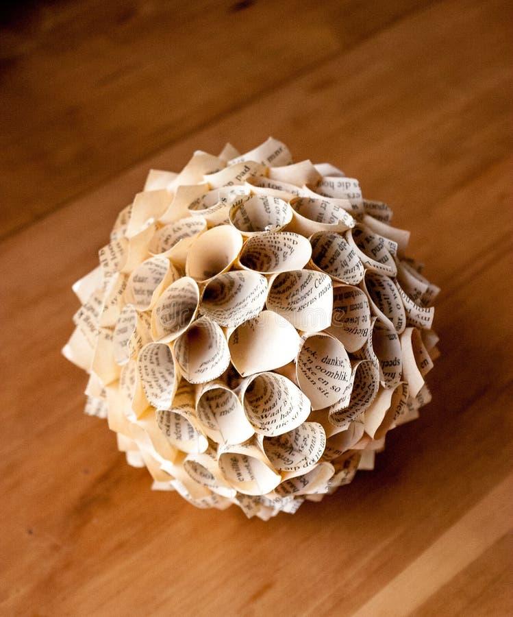Fleur de papier de cône photos libres de droits