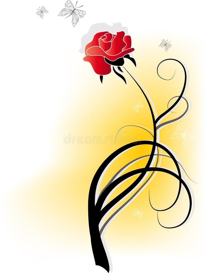 Fleur de Rose illustration libre de droits