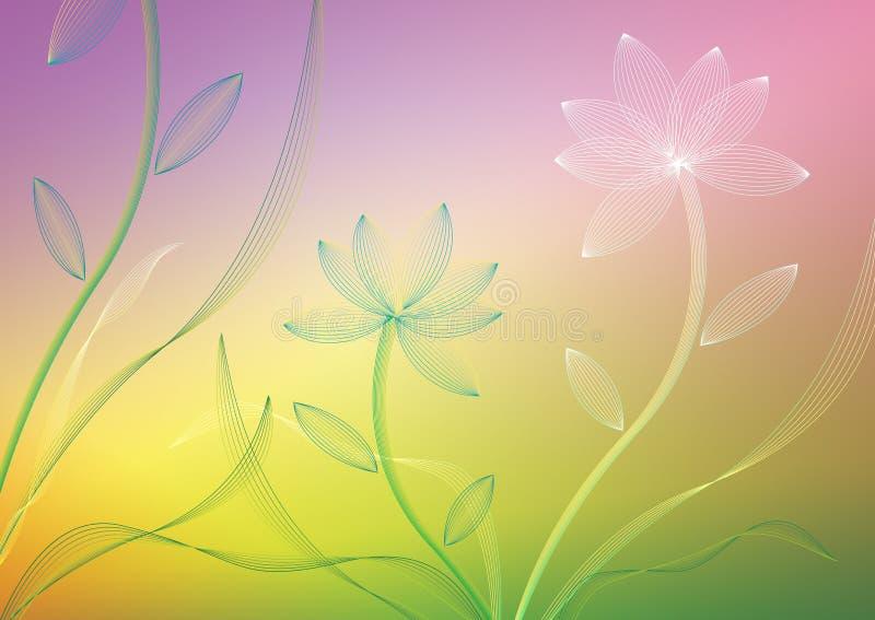 Fleur de vecteur photo libre de droits
