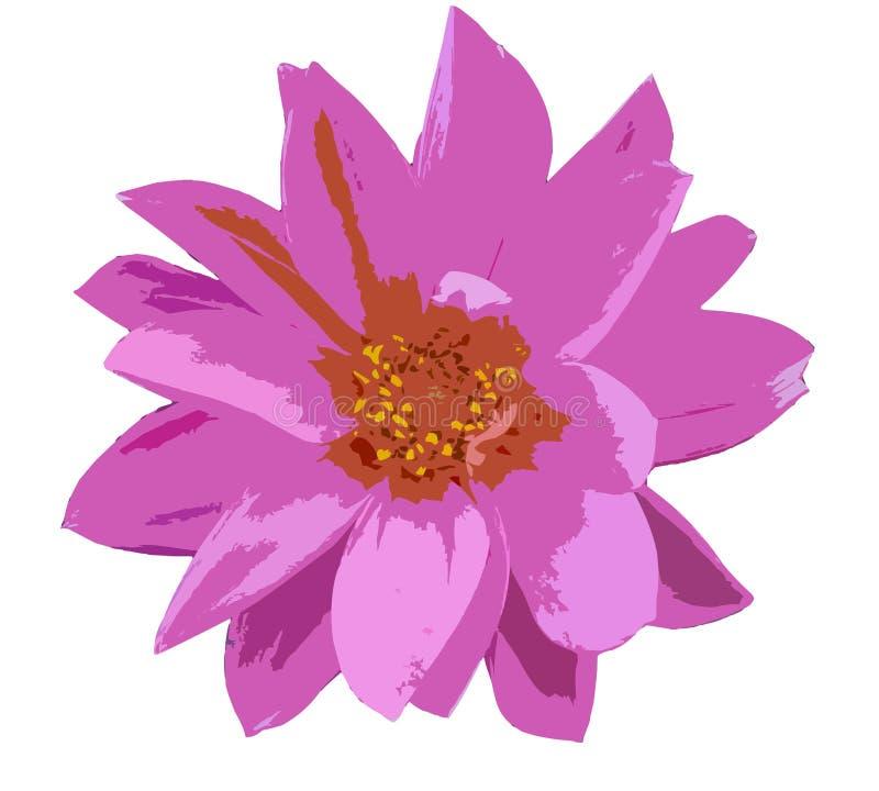 Fleur de vecteur illustration stock