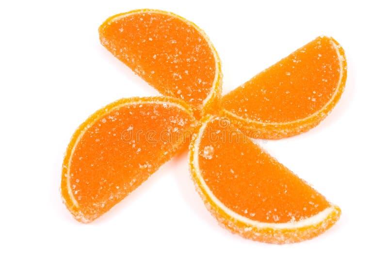 Fleur des gelées de fruit image libre de droits