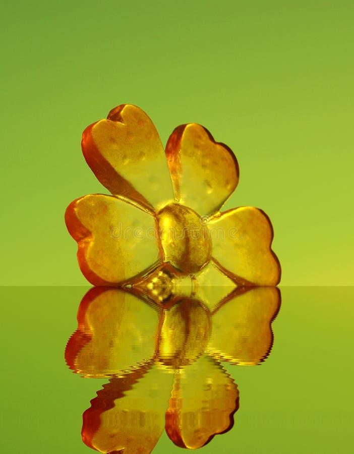 Fleur en plastique photos stock