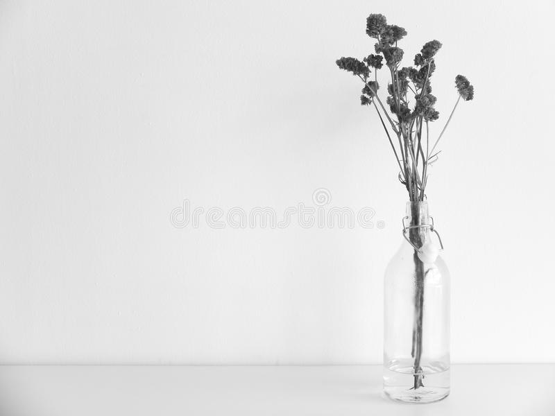 Fleur en verre photo libre de droits