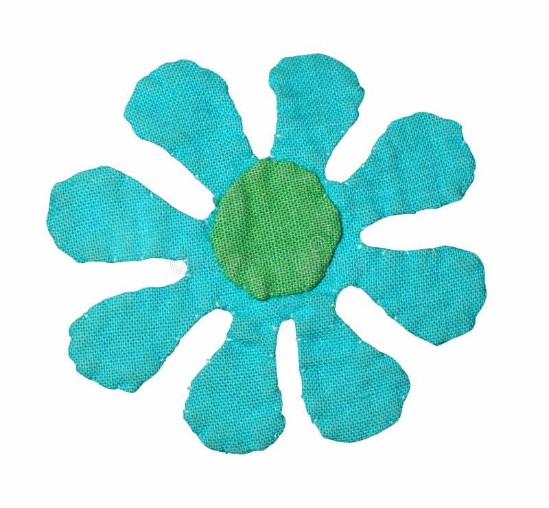 Fleur faite maison avec le chemin images libres de droits