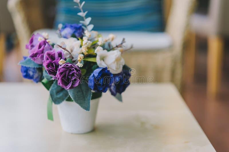 Fleur fausse image stock